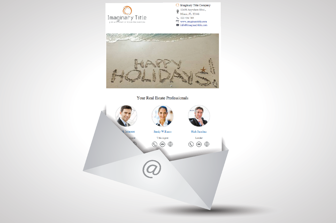 Automated targeted e-mails to Client